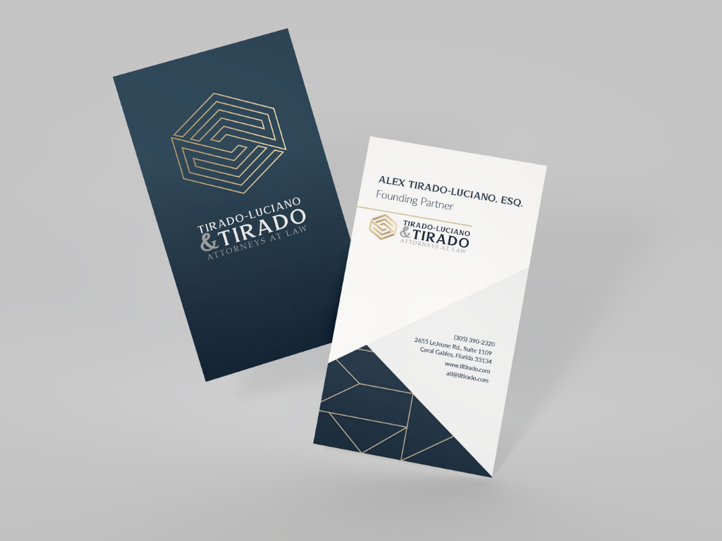 tirado business card mockups
